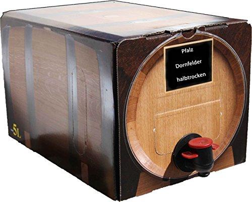 Pfälzer Dornfelder Rotwein halbtrocken 1 X 5 L Bag in Box direkt vom Weingut Müller in Bornheim
