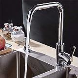 PENG Die moderne Küche Badezimmer voll Kupfer kaltem Wasser Abwaschen in der Badewanne mit einem drehbaren Waschbecken aus Edelstahl Armaturen