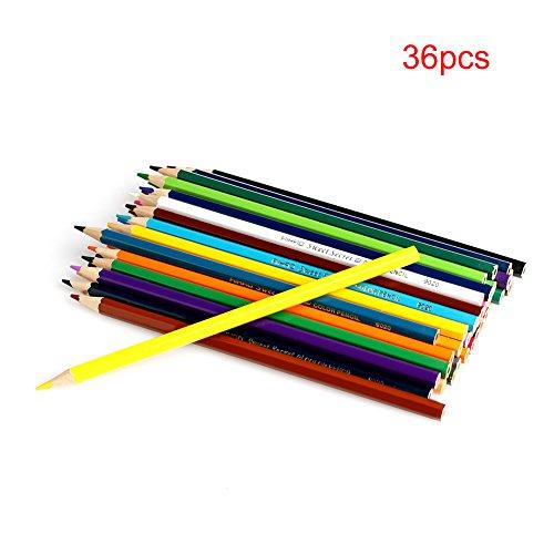 Dairyshop Nouveau Dessin 36 couleur Crayons cadeau Conçu pour les étudiants Artistes Crafters