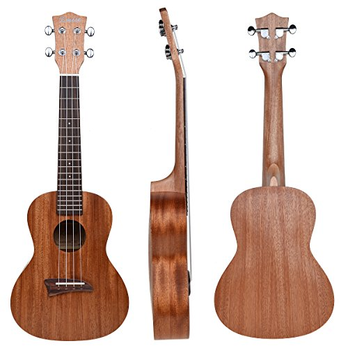 kmise-matt-laminated-mahogany-concert-ukulele-23-inch-hawaii-guitar-with-aquila-strings