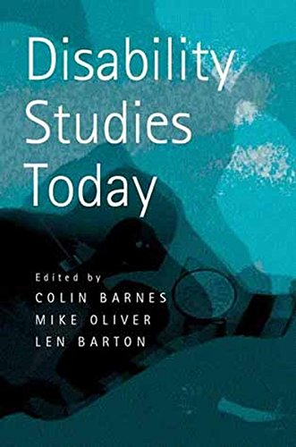 [(Disability Studies Today)] [Edited by Colin Barnes ] published on (December, 2002)