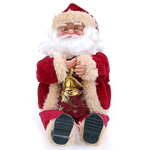 Noël Poupée Santa Claus Poussin Rembourré Peluches Figurine Jouets Commerce