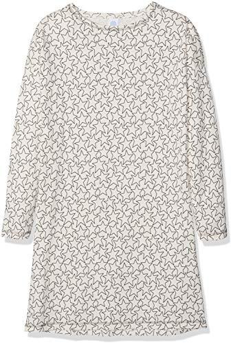 Sanetta Mädchen Sleepshirt Allover Nachthemd, Pink (Bridal Blush 3997.0), 152