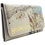 Harry Potter Waiting on My Letter Hogwarts Blanc Portefeuille