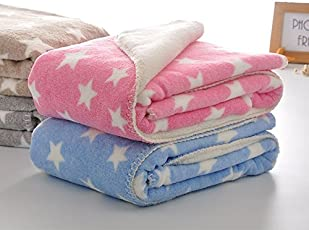 My Newborn Soft Flannel Blanket Wrappers for Babies-Combo of 2 Pcs.