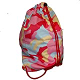 Pink Army Turnbeutel Hipster City String Bag Camouflage Tarnfarben