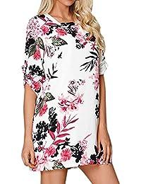 beautyjourney Vestiti donna lungo taglie forti estivi eleganti da cerimonia  vestito lungo donna cerimonia abiti abito 6a150b4f886