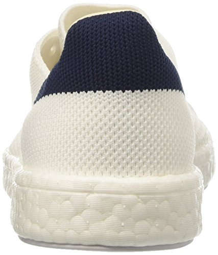 Adidas Unisex-erwachsene Stan Smith Boost Sneaker Primeknit Dekollete Weiß (calzature Bianche / Calzature Bianche / Blu Scuro)