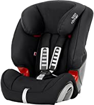 Britax Romer EVOLVA 123 BR Baby Car Seat for GROUP 123(From 9m to 12 Years/From 9-36 kg)- Cosmos Black