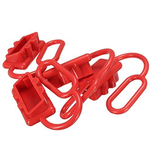 Tutoy 50A Dc 12-24V Staubkappen Abdeckung Für Anderson Plug Cover Style Steckverbinder Staubschutz Kappen Rot 50a Steckdose