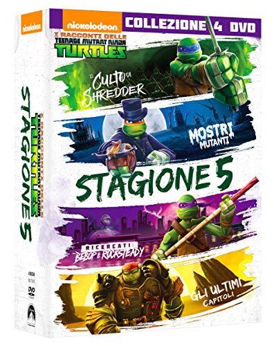 T.M.N.Turtles Stg.5 (Box 4 Dvd)