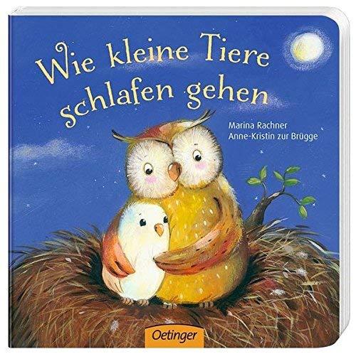 Wie kleine Tiere schlafen gehen von Anne-Kristin zur Brügge ( 1. August 2013 )