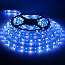 BTF-LIGHTING 16.4ft 5M 5050 RGBW RGB+blanco fr¨ªo led tira mezclado color 60leds/m IP67 impermeable en Tubo 300LEDs Cinta de led DC12v