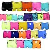 5, 10 oder 20 Boxershorts Pants Mikrofaser Unterhosen Retro