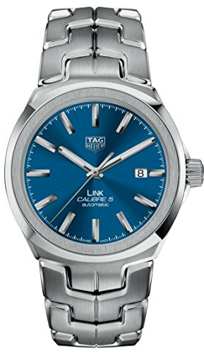TagHeuer Link Blau Zifferblatt Edelstahl 41mm wbc2112. ba0603