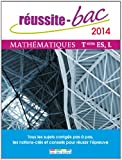 Réussite bac 2014 - Mathématiques, Terminale séries ES et L