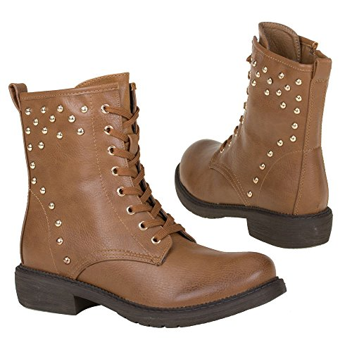 Damen Schuhe, 268, STIEFELETTEN Braun