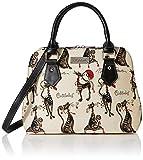 Joe Browns Damen Le Chat Francaise Tapestry Bag Schuhbeutel, Schwarz (Black), Einheitsgröße