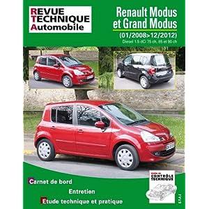Renault Modus et Grand Modus 1,5 dCi 75, 85 et 90 ch