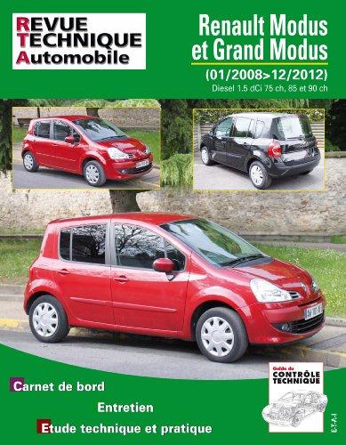 Renault Modus et Grand Modus 1,5 dCi 75, 85 et 90 ch par ETAI