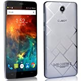 CUBOT Max 4G Smartphone Display 6 Pollici, Batteria 4100mAh, 3GB RAM + 32GB ROM, Octa-Core, Fotocamera 13MP, Android6.0, Dual SIM, IPS 2.5D Schermo Curvo Argento [CUBOT OFFICIALE]