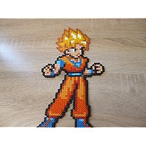 Sprite Goku - dragon ball - Hama Beads - Pixel Art