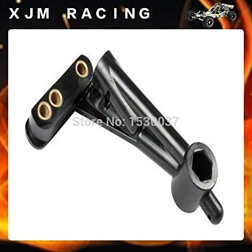 Generic 1/5 rc car racing parts, side bumper plate rear support for baja 5t