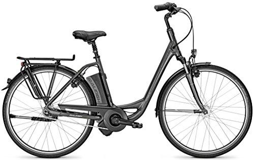 E-Bike Raleigh DOVER IMPULSE 7R HS dimissioni Wave 28'7-G 11AH Grey 2017, carbionitegrey matt, 55