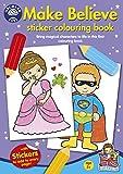 Orchard Toys Libro para colorear con pegatinas de disfraces (multicolor)
