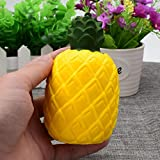 Stress Reliever Toy Muium Pineapple Scented Squishy Super Slow Rising Squeeze Decompression Toys Phone Strap