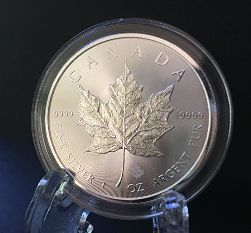 2015-canadian-silver-maple-1-oz-999-silver-coin-w-air-tite-direct-fit-container-by-canada