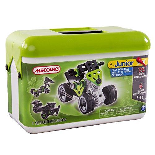 MECCANO - Junior Easy Toolbox, Juego de construcción (Bizak 61921765)