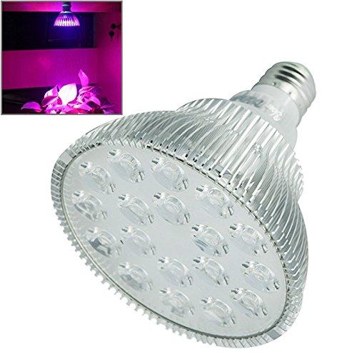 TechAffect Grow Licht–18Watt LED Hydrokultur Wachsende Lampe E27(Edison Schraube)–Rot, Blau, Weiß–Schraube Leuchtmittel–Ideal für Pflanzen–Hohe Lichtleistung aber energiesparende LEDs