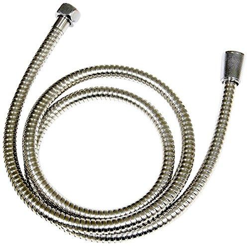 CON:P Metall-Brauseschlauch, - 1/2 Konus x 1/2 Zoll Überwurfmutter, Innendurchmesser: 8 mm, Länge: 150 cm, 1 Stück, SA330696