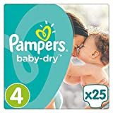 Pampers Baby Dry Windeln Carry Pack - Größe 4 (Maxi), 25 Windeln