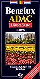ADAC Karte, Benelux (ADAC Länderkarten) -