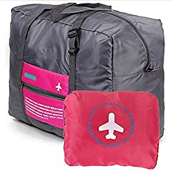 CONNECTWIDE Happy Flight Foldable BAG, 32 Litre, Polyester Material, Large Capacity Waterproof Foldable Lightweight Luggage Bag