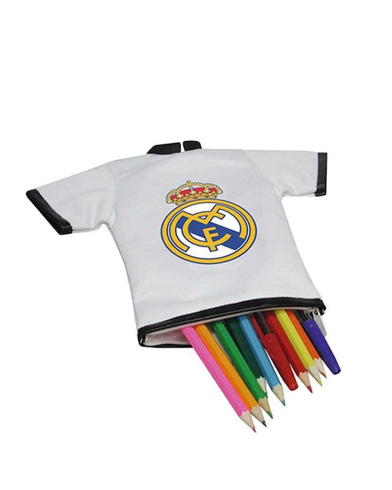 REAL MADRID CF® Portatodo Camiseta con Mosquetón