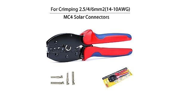 Pinza a crimpare solare Piegatore MC4 per connettori MC4 Crimpatura dei cavi