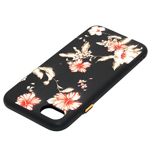 """Coque iPhone 7 Plus Silicone Housse Cas Transparent, Rosa Schleife® 5.5"""" Apple iPhone 7 Plus TPU Silicone Gel Case Cover Ultra Mince Coque Etui de protection Back Cover 6-style"""