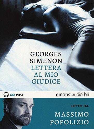 Lettera al mio giudice letto da Massimo Popolizio. Audiolibro. CD Audio formato MP3
