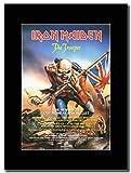 Iron Maiden - The Trooper ...Magazin Promo auf einem schwarzen Berg
