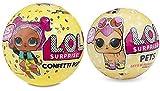 L.O.L. Surprise! Confetti Pop-Series 3-Wave 1 Unwrapping Toy Bundle with L.O.L. Surprise! Pets Series 3