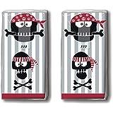 20Têtes de mouchoirs (2x 10) Pirate/Pirate/motif Mouchoirs