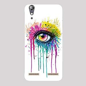 Back cover for Lenovo A6000 Rainbow Eye Art