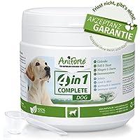 4in1 Complete de AniForte - Condroprotector Perros 100% Natural - 250gr | Articulaciones y Movilidad | Antioxidantes, Prebióticos, Vitaminas, Zinc y Hierro