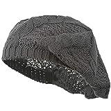 LIUQIAN Barett Wolle gestrickte Baskenmütze Frühling und Sommer Spirale Tattoo Reine Farbe Lady Mütze Damenhut