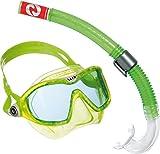 Aqua Lung Sport Kinder-Schnorchel-Set mit Tauchmaske und Schnorchelrohr Einheitsgröße Grün