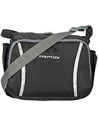 Fantosy men Grey polyester slingbag (MB-002)