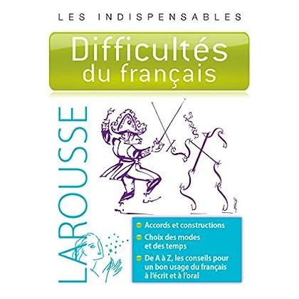 Difficultés du français - Les indispensables Larousse